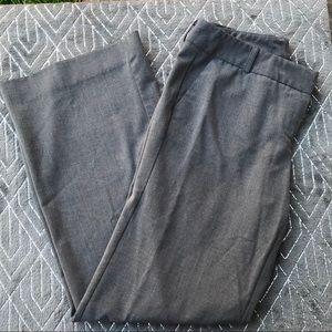 New York & Co Grey Dress Pants 4 Petite